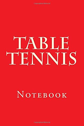 Table Tennis: Notebook