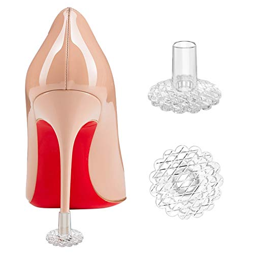 Likimar Heel Protectors for Shoes Women High Heel Stoppers for Grass-Stop Heels Sinking into Grass