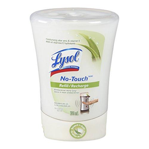 Lysol Нет-Touch Автоматическая мыло для рук, алоэ, 1 Refill, 8,5 унции (в упаковке 2)
