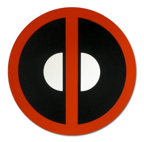 Marvel Deadpool Logo Car Magnet