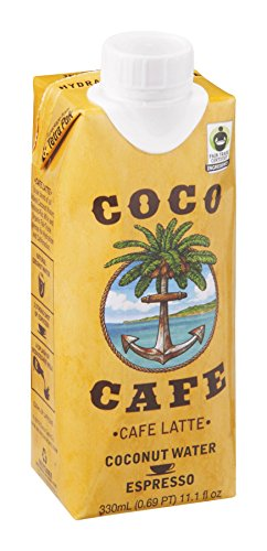 Coco Cafe Coconut Water Espresso 330 ML (Pack of 24) by Coco Cafe by Coco Cafe