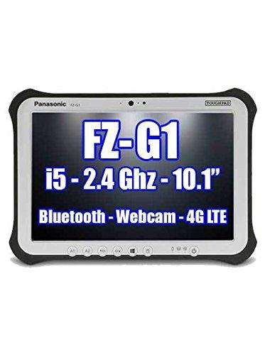 PANASONIC TOUGHPAD FZ-G1 FZ-G1P2637VM i5 2.4GHz BLUETOOTH, WEBCAM, 4G LTE, 256GB SSD, 8GB Ram, Windows 10 Pro