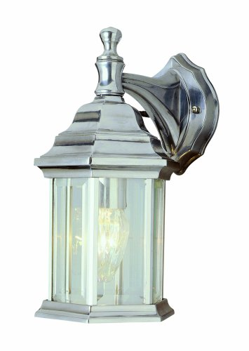 (Trans Globe Lighting 4349 BN Outdoor Cumberland 12.5