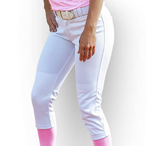 3N2 Women's Classic Softball Pants, White, ()