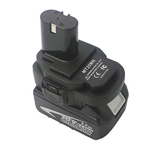 Alaojie MT20MN Adaptador de bater/ía de 18 V para Makita Wireless Power Supply