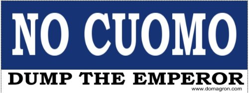 DOMAGRON No Cuomo - Antii -Andrew Cuomo Bumper Stickers