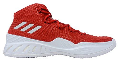 Adidas Crazy Explosive 2017 Shoe Mens Basketball Scarlet-white
