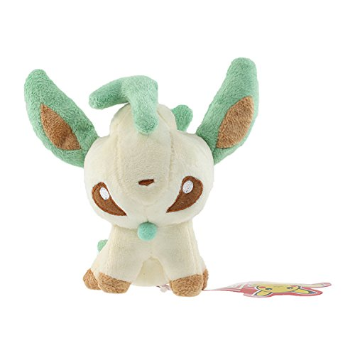[5 inch, #470 Leafeon Grass Eevee Mini Plush Toys Stuffed Doll] (Spawn Costume For Kids)