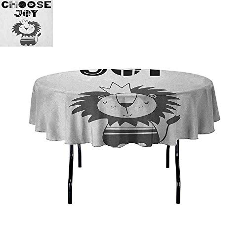 DouglasHill Lion Easy Care Leakproof and Durable Tablecloth