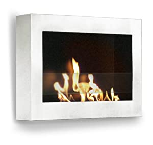 Amazoncom Anywhere Fireplace SoHo Wall Mount Ethanol Fireplace