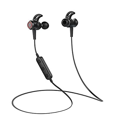 Bluetooth Headphones - TOWAYS Wireless Headphones Earbuds Bluetooth 4.1 Magnetic Earphones With Microphone for Sports Workout Hands-free Calls