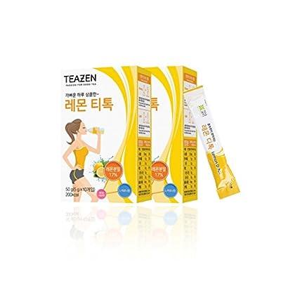 TEAZEN Lemon Detox & Diet Vibrant Cleanse Pack of 2, 20 Servings