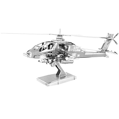 Metal Earth Apache Helicopter Model