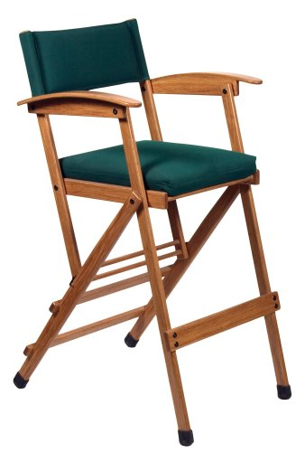 Hollywood-Chairs-by-Totally-Bamboo-32-Inch-Tall-Elm-Director-Chair-Green