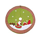 Cacys-Store - Christmas Tree Skirts Hotel Party Decoration Santa Claus Snowman Special Supply Scene Christmas Tree Skirt Xmas Supplies