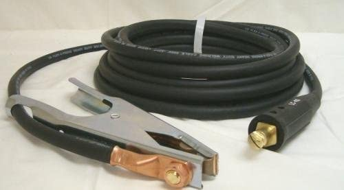 #2 Welding Cable Lead 50 Foot Negative Lead Clamp