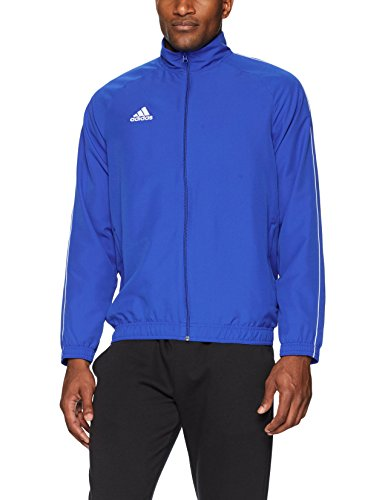 adidas Core18 Presentation Jacket, Bold Blue/White, Large