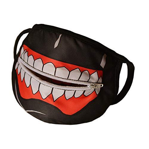 TokyoGhoul - Kaneki Ken - Zipper Anti-Dust Mask
