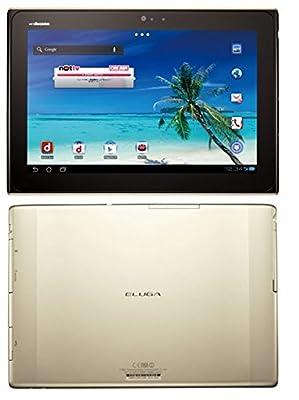 "Panasonic Eluga Live P-08D 10.1"" 16GB WiFi Android Waterproof Tablet Gold"