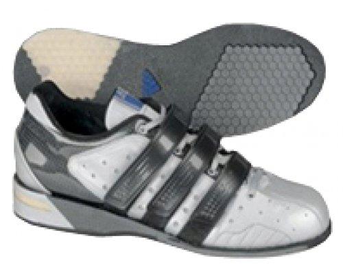 ADIDAS Adistar Zapatilla de Halterofilia Caballero, Plata/Negro, 50 2/3: Amazon.es: Zapatos y complementos