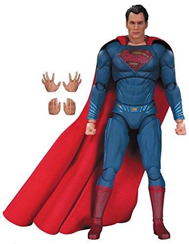 "Superman: ~6.75"" Batman v Superman - Dawn of Justice x DC Collectibles DC Films Action Figure + 1 FREE Official DC Trading Card Bundle (34097)"