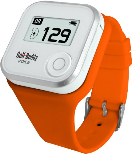 Wristband for GolfBuddy GPS Rangefinder Voice, Small, Orange GB7-WRSTB-ORG