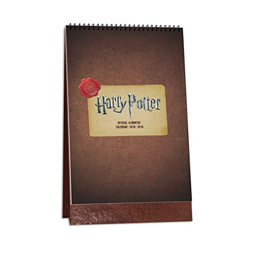 Mc Sid Razz Harry Potter Table Calendar from Nov 2018 - DEC 2019| Harry Potter Collectibles (14 Months)| Desktop Calendar | |Gift Set Birthday Officially Licensed by Warner Bros, USA ()