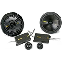 Kicker 40CSS674 6-3/4 Component Speaker - Pair (Black)