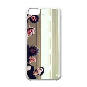 iPhone 5c Cell Phone Case Covers White The Vaccines Phone Case Active Hard CZOIEQWMXN12029