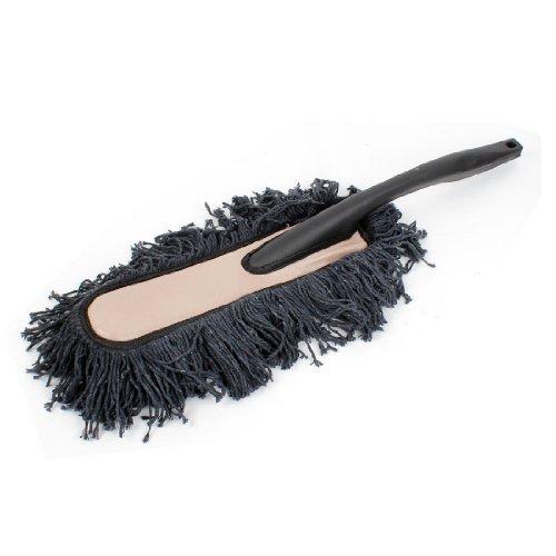 40 Dusters (Black Chenille Microfiber Car Wax Treated Duster Dust Brush 40 x 14cm)