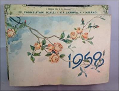 Calendario 1958.Calendario 1958 N A Amazon Com Books