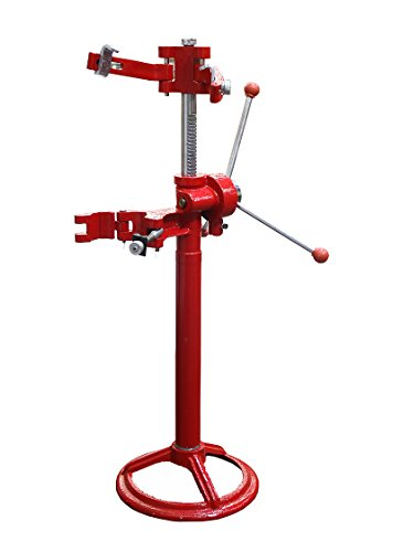 GHP 3-Knob Handle 8'' Max Diameter 20'' Max Height Hand Operated Strut Coil Compressor by Globe House Products (Image #2)