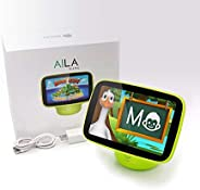 DMAI Aila Sit & Play Intelligent Parenting Monitor & Edutainment System with curated Content Created by Educators and innova