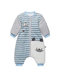 Baby Sleeping Bag Winter Thickened Cotton Children Anti Kick Sleep Sack for 9-36 Months