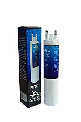 ULTRAWF Refrigerator Replacement Water Filter By Filter For My Fridge | Water Purification Filter | Reduces Iron, Lead, Chlorine, and Other Contaminants | Makes Better Tasting Drinking Water
