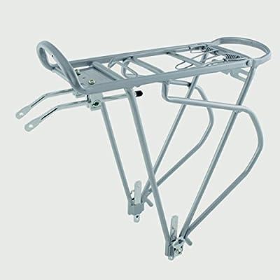 O-Stand Traveler Silver Alloy Pannier Rack - 440184