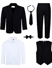 Van Heusen Boys Pant 006 Black//White 20R