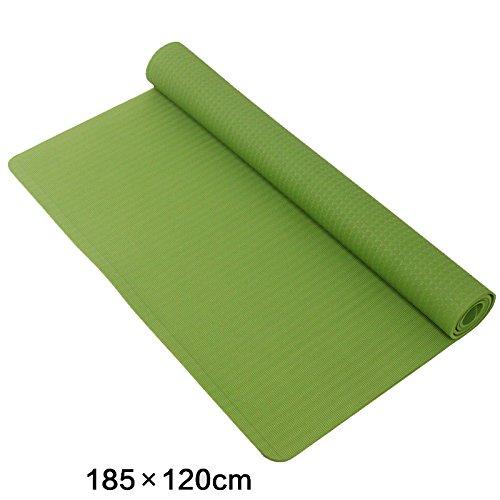 Anti-Rutsch-Yoga-Matte --- TPE-Erweiterung und Verlängerung Doppelte Person Anti-Rutsch-Yoga-Matte, Farbe Optional --- Naturkautschuk Yoga-Matte, für Training / Pila