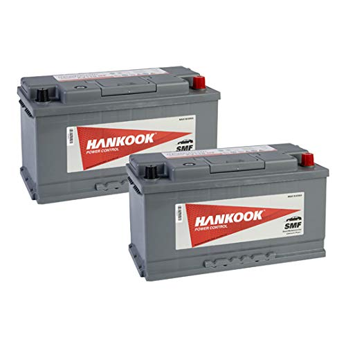 2x Hankook 110Ah Leisure Battery XV110MF