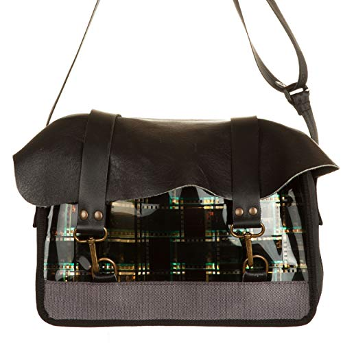 Design Camera Borsa Messie Pellicola Nero Vialescarpe Film Fvtqf4