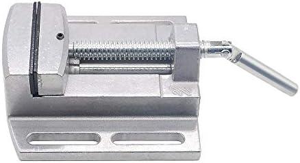 """GENERICS LSB-Werkzeuge, Mini Precisio Multifunktionale Arbeitstischbohrmaschine Stent 2,5""""Parallelbackenschraubstock Drill Press Vise Arbeitstisch Adjust"""