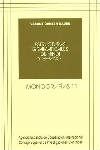 Estructuras Gramaticales De Hindi Y Español Monografías