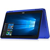 Dell Inspiron 11.6 HD 2-in-1 Convertible Touchscreen Laptop (Tablet), Intel Quad-Core Pentium N3710 up to 2.56GHz, 4GB RAM, 500GB HDD, MaxxAudio, WLAN, Bluetooth, HDMI, Webcam, Windows 10