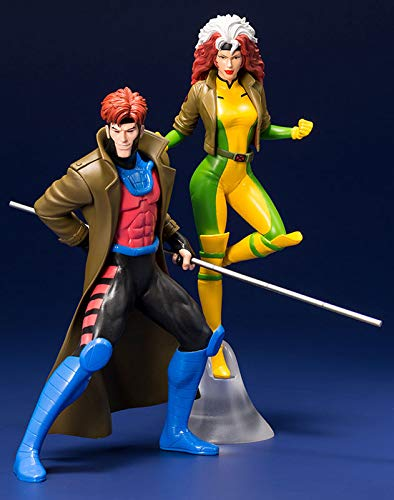ARTFX + MARVEL UNIVERSE gambit & rogue 2-Pack 1 / 10 scale PVC painted simple Assembly figure ()