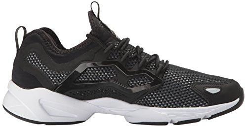 Reebok Femmes Fury Adapter Gracieux Tmi Mode Sneaker Noir / Or Métallique / Blanc