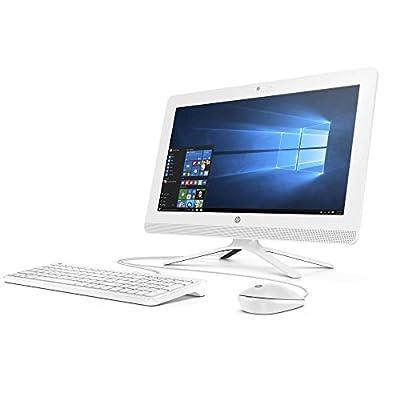 2017 HP Newest 19.5 inch HD All-in-One Flagship Premium Ultra Slim-tray Desktop Monitor PC  Intel Pentium J3710 Quad-Core  4GB DDR3  500GB HDD  SuperMulti DVD  WIFI  Windows 10 (Snow White)