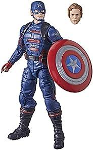 Boneco Marvel Legends Series Avengers, Figura de de 15 cm - Captain America: John F. Walker - F0224 - Hasbro
