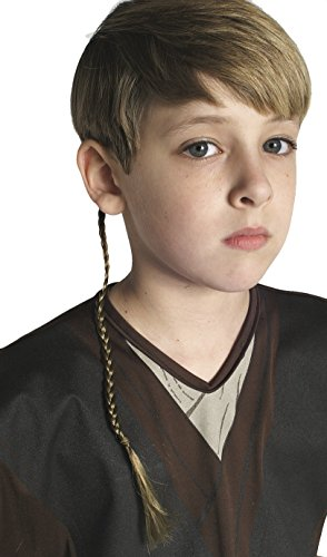 Child Emperor Palpatine Costume (Star Wars Episode 2 Anakin Skywalker Jedi Braid)