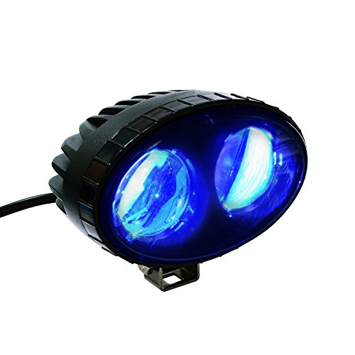 AOMAX 8W CREE Blue LED Forklift Safety Light Spot Light Warehouse Safe Warning Light, 9V-60V LED , 250LM