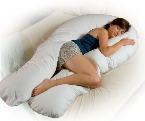 Petite Comfort U Total Body Support Pillow (Petite) by Moonlight Slumber